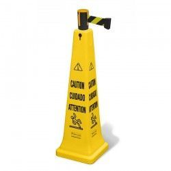 Industrial Safety Cone with 3.70 meters tape