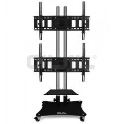 "PTR-08 / 2C Mobile support with 2 PTR-32 heads for screens (adjustable up to 60 "")."