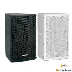 WORK Mino 8 passive speaker 100W, available in white or black.