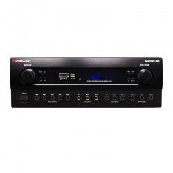 Mark MA 500 USB Amplifier 2x150W. 5 MIC, LINE, USB / SD / BT. REC output. Tone controls