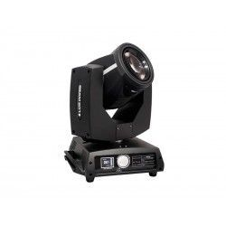BEAM 201 Moving head. 7R lamp. 230W 20 DMX channels. 1 color wheel, 1 gobos