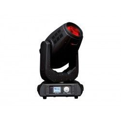 BEAM 350 Moving head. 17R lamp. 350W. 16 and 24 DMX channels. 1 color wheel, 2 gobos