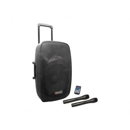 MAM 152 BT TROLLEY Self-powered trolley system. Mp3 player. USB / SD / FM / Bluetooth. Drums