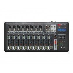 8-channel mixer MAX 10 FX USB