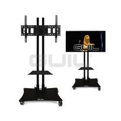 "PTR-08G / N Mobile support for screens (adjustable up to 80 ""). Tray included (RECLINING HEAD)"