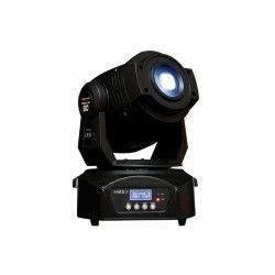 SIDIUS LED 90/2 Moving head. 1 WHITE LED. 90W 11, 14, 16 c. DMX 1 color wheel, 2 gobos