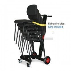 CRO-16 Trolley to transport up to 6 ergonomic orchestra chairs Ref. SLL-03