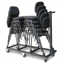 CRO-14 Trolley to transport 10 ergonomic chairs for orchestra Ref. SLL-01 or SLL-02