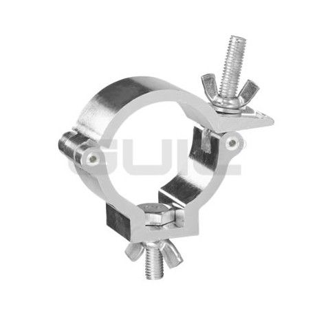 ABZ-38 Aluminum clamp with screws. For Ø 35-40 mm tube. WLL 30 kg.