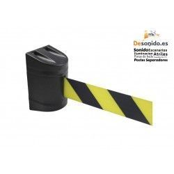 Wall fixing with 3 meter black-yellow tape