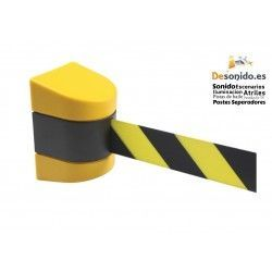 Wall fixing with 10 meter black-yellow tape