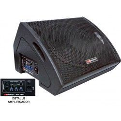 Active 400 W coaxial monitor Prog. 15 '' Woofer + 1.34 '' coaxial driver.
