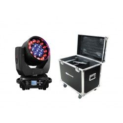 Pack 2 x MOVILED 304 + RACK Moving head Wash. 380 W.
