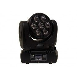 MOVILED BEAM 712 Moving head 7 RGBW LEDs (4 in 1) 12W c.u.