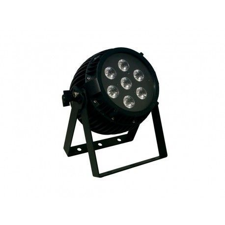 PARLED 126 6 IP Lighting projector. 126 W. 7 x LED RGBWAUV 18 W.