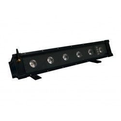 MBAR 612 BAT WI Bar 6 LEDs RGBWA UV 12Wc.u.