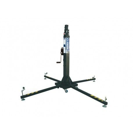 Telescopic Lift Tower LW 255R Load: 220 Kg. Height: 5.3 m. Weight: 90 Kg.