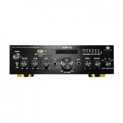 AMP 50 HI-FI stereo amplifier with an MP3 player and FM radio