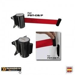 PST-CB/P head wall with Red retractable tape 3m