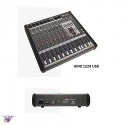 1224 AMX USB mixer 8 mono + 4 stereo channels