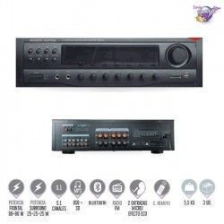 AMP-235 Amplificador HI-FI 5.1 con reproductor MP3,  Bluetooth y radio AM/FM